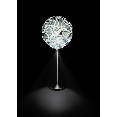 QisDesign Coral Table Lamp- With Reading Led Light
