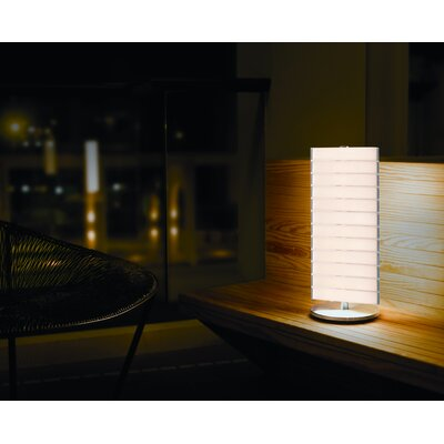 "QisDesign Piano 18.11"" H Table Lamp with Drum Shade"