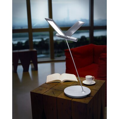 "QisDesign Seagull 24.8"" H Table Lamp"