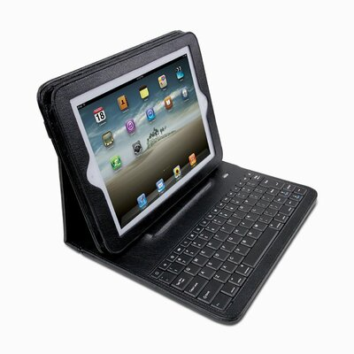 Dyconn Pad Folio iPad/Bluetooth Keyboard Case with Detachable Sleeve