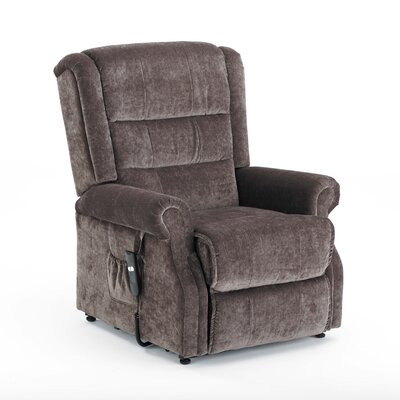 Willis and Gambier Johnson and Holland Recliner Chair in Viscosity Mink