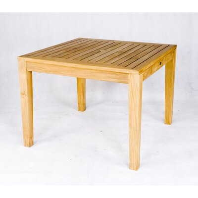 Les Jardins Teak Stafford Square Table