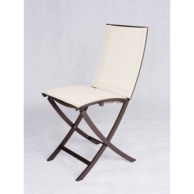 Les Jardins Out of Blue Twig Folding Dining Side Chair