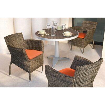 Les Jardins Out of Blue Twig Round Folding Table