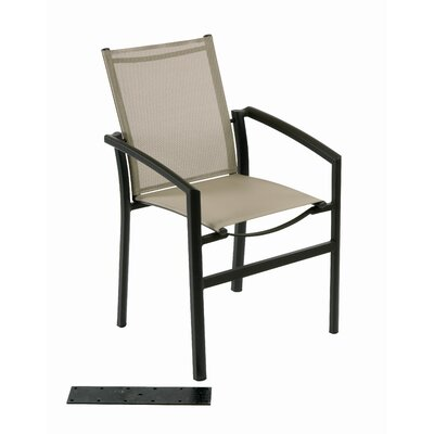 Les Jardins Out of Blue Ozalide Stacking Dining Arm Chair