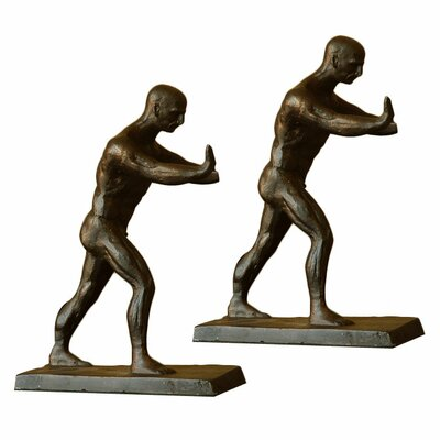 SPI Home Working Men Book Ends
