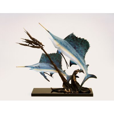SPI Home Sailfish Going After Ballyhood Statue