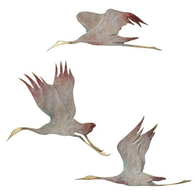 <strong>SPI Home</strong> Crane 3 Piece Wall Décor Set