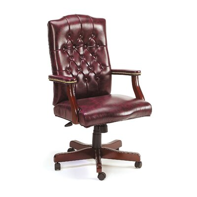 Boss Office Products Traditional Tufted Style High-Back Office Chair