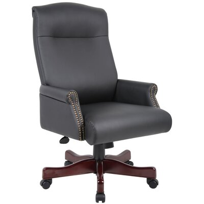 Boss Office Products Traditional High-Back Executive Chair
