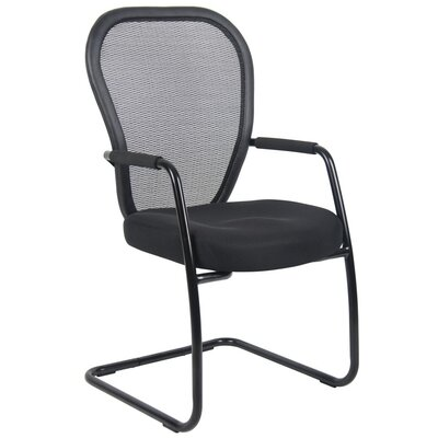 Mesh Guest Chair with Cantilever Sled Base