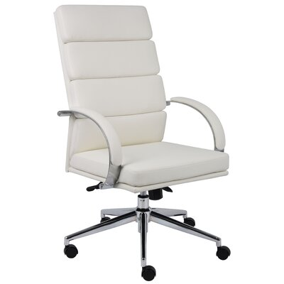 Boss Office Products High-Back Caressoft Plus Executive Chair