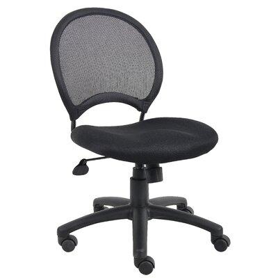 Boss Office Products Height Adjustable Mesh Chair with Casters
