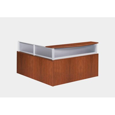 Boss Office Products Reception Desk Shell