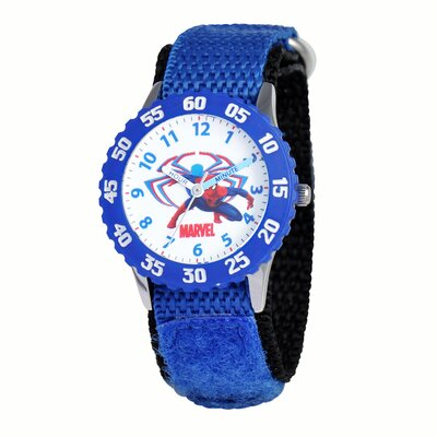 Marvel Boy Spider Man Time Teacher Watch