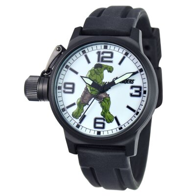 Marvel Men's Hulk Crown Protector Watch