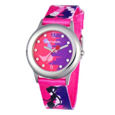 Girl's City Shopping Spree Tween Glitz Watch