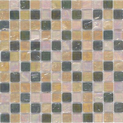 "Surfaces Elida Glass 12"" x 12"" Mosaic in Natural Oil"