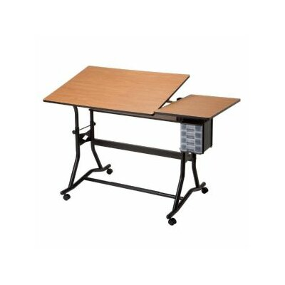 Titan II Split Melamine Drafting Table