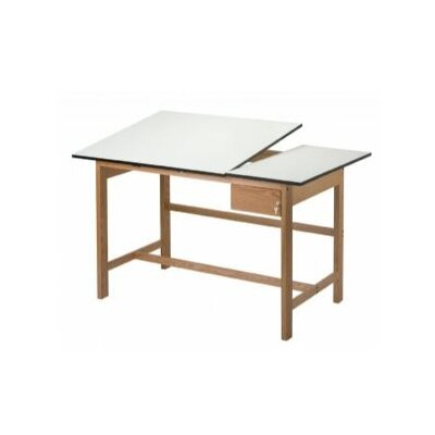 Alvin and Co. Titan II Split Melamine Drafting Table