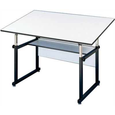 WorkMaster Melamine Drafting Table