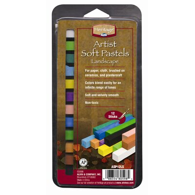 Alvin and Co. Landscape Soft Pastels Set