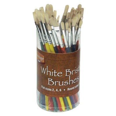 Alvin and Co. Bristle Brush Assortment (Set of 72)