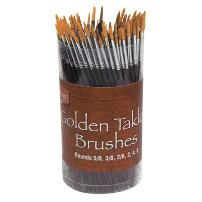 Alvin and Co. Taklon Brush Assortment (Set of 144)