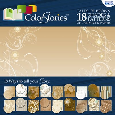 Alvin and Co. ColorStories Paper Pack (Set of 18)