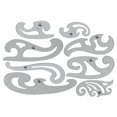 Alvin and Co. French Curve (Set of 8)