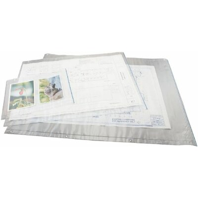 Alvin and Co. Translucent Vinyl Envelope