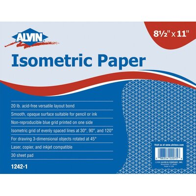 Alvin and Co. Isometric Paper Pad