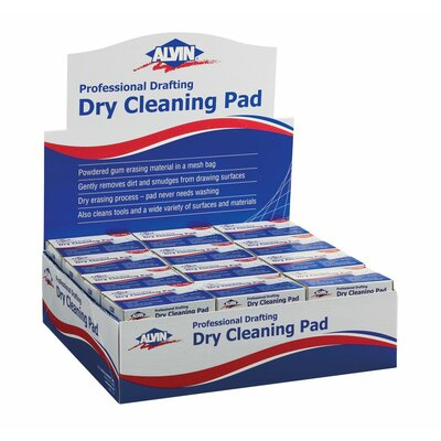 Alvin and Co. Dry Cleaning Pad Display