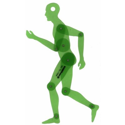 Alvin and Co. Human Figure Template