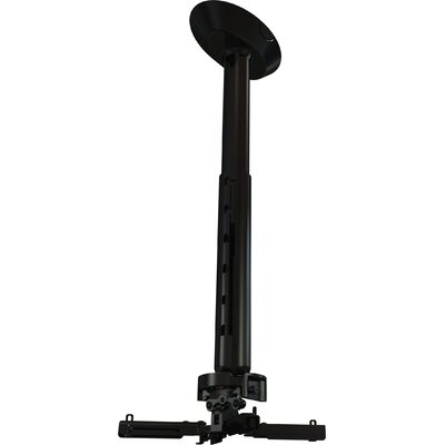 "Crimson AV Universal Ceiling Mounted Projector Kit with 18"" to 24"" Adjustable Drop Length"