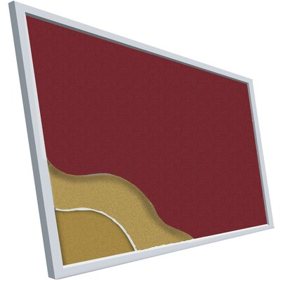 Best-Rite® Fabric Covered Add-Cork Tackboards
