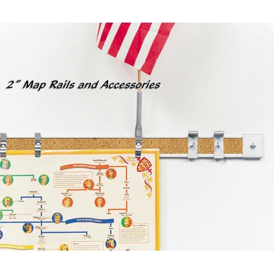 "Best-Rite® 2"" Accessories for Map Rail"