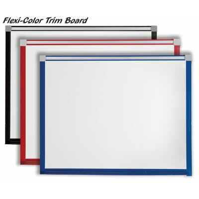 Best-Rite® Flexi-Color Trim Board - Porcelain Steel