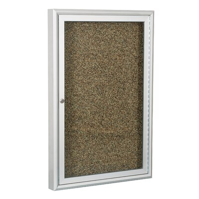 Best-Rite® Enclosed Rubber Tak Bulletin Board