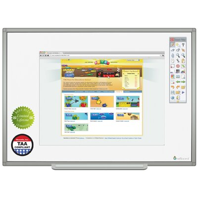 Best-Rite® OneBoard Porcelain Steel Whiteboard