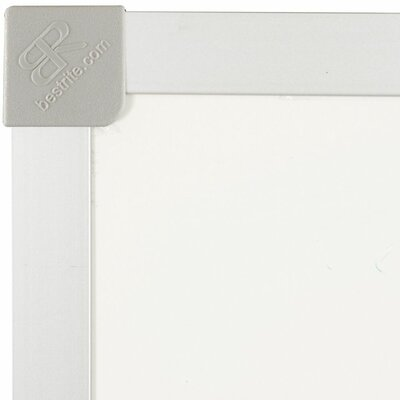 "Best-Rite® 18"" x 24"" Porcelain Steel Markerboard with ABC Trim"