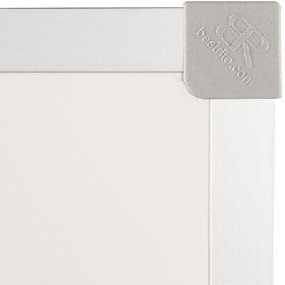 Best-Rite® 4' x 8' Porcelain Steel Markerboard with ABC Trim