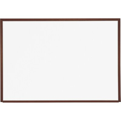 Best-Rite® 4' x 8' Porcelain Steel Markerboard with Solid Wood Trim