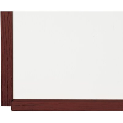 Best-Rite® 2' x 3' Porcelain Steel Markerboard with Solid Wood Trim