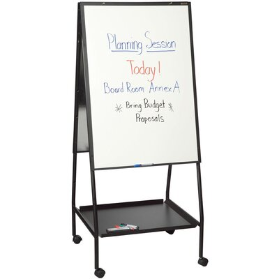 Best-Rite® Double Sided Adjustable Mobile Easel, 'Wheasel'