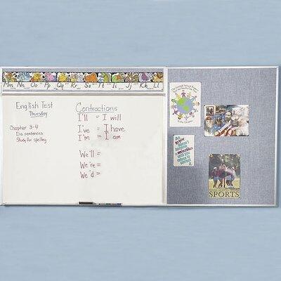 Best-Rite® Combo-Rite Modular Board- Type D- Reverse DL 5' x 12'
