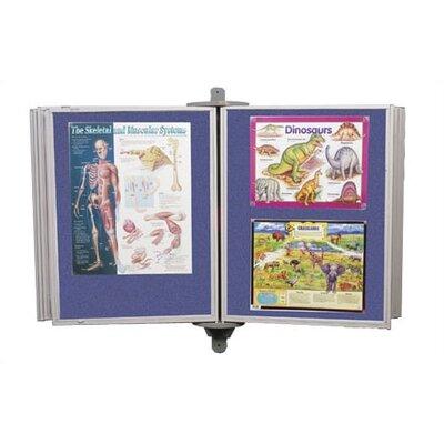 Best-Rite® Full View Swinging Panels 4' x 6' Bulletin Board