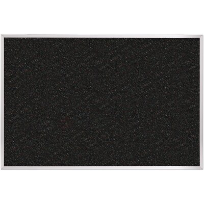 Best-Rite® Re-Tire Ultra Trim Recycled Rubber Tackboard