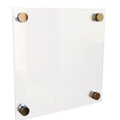 Best-Rite® Enlighten 1x1 Non-Magnetic Glass Board