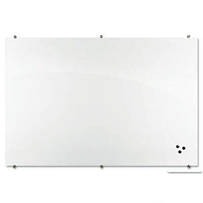 Best-Rite® Visionary Magnetic Frameless Glass Board